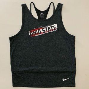Nike Ohio State Dri-Fit Tank Top